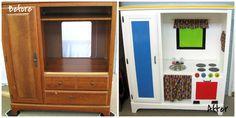 16 Upcycle ideetjes voor oud meubilair … geef nieuw leven aan oud spul
