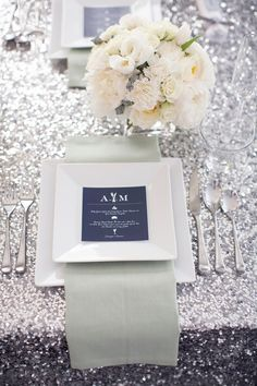 A little bit of Glitter & Glam for your tablescape… | Design Indulgences