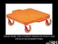 LOVED these things back in the day! And yes, I was always terrified I would run over my fingers.