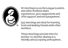 What goes on at those La Leche League meetings? #breastfeedingsupport