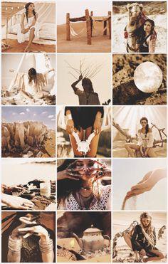 Boho Witches Series VI - Desert aesthetic