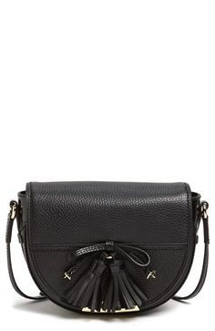 Burberry 'Maydown' Leather Crossbody Bag available at #Nordstrom