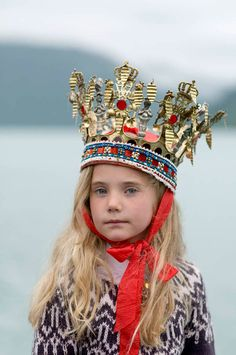 Norwegian girl, interesting culture