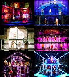 Next to Normal Sets. Seriously one of the coolest sets I've ever seen Theatre Shows, Theatre Geek, Theatre Stage, Musical Theatre, Stage Set Design, Set Design Theatre, Prop Design, Teatro Musical, Broadway