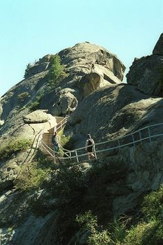Moro Rock, Sequoia NP - cannot tell you how many times I have climbed this!