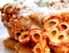 Baked Ziti for Toddler– 12-18 Month Baby Food