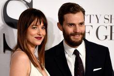Dakota Johnson quer que Jamie Dornan faça nu frontal em Cinquenta Tons Mais Escuros