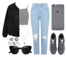 """Untitled #173"" by ten-dencias ❤ liked on Polyvore featuring Topshop, MANGO, adidas and ASOS"