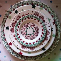 A little bit of Emma Bridgewater at Christmas Pottery Painting Designs, Pottery Designs, Pottery Art, Pottery Mugs, Christmas China, Christmas Dishes, Christmas Crafts, Vintage Christmas, Emma Bridgewater Pottery
