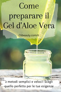 Come preparare il Gel d'Aloe Vera - Beauty Beauty Care, Diy Beauty, Aloe Vera, Homemade Cosmetics, Beauty Recipe, Natural Life, Natural Medicine, Beauty Routines, Beauty Secrets