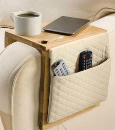 8 DIY Sofa Caddies And Holders