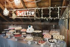 Love is sweet and so are these amazing dessert table ideas!