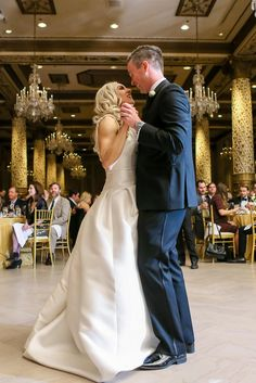Wedding At The Drake Hotel Gold Coast Room Chicago IL