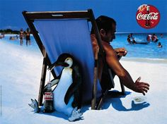 Penguins and Coca-Cola all in one photo!! I dont know what to do with myself!
