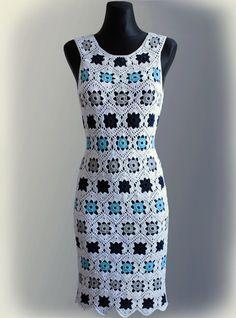 Dress. Crochet