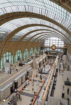 Musee D'Orsay, Paris, France.  Go to www.YourTravelVideos.com or just click on photo for home videos and much more on sites like this.