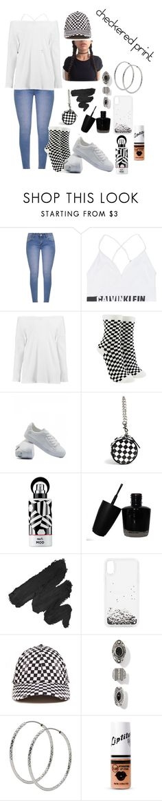 """Untitled #509"" by skylovessave ❤ liked on Polyvore featuring Calvin Klein Jeans, Boohoo, Forever 21, Avon, NYX, Rebecca Minkoff, 21 Men and M&Co"