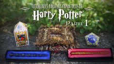 DIY de Harry Potter (PARTE 1) | MEGATUTO DREEN