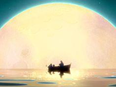 La luna. La magia.
