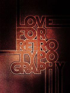 Typography  50 pôsteres tipográficos geniais | Criatives | Blog Design Inspirações Tut