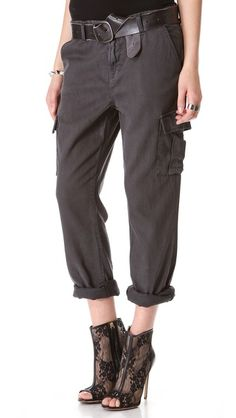 J Brand Croft Easy Cargo Pants- perfect, perfect, perfect for when working on site...