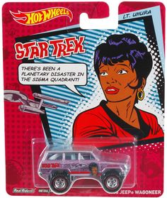 STAR TREK Hot Wheels Uhura! - http://northdallastoyshow.wix.com/toys