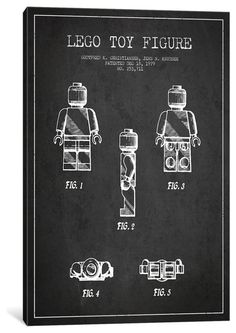 Blueprint wall art posters and prints at art my best guy toy lego dark patent blueprint malvernweather Images