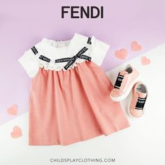 How Cute Are These New Arrivals From #Fendi 😍 Shop Now: www.childsplayclothing.com 💖