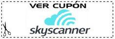 Código descuento Sky Scanner - Ver más: http://buscacupones.es/codigo-descuento-skyscanner/