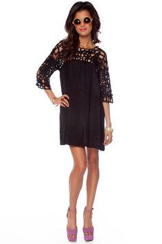 See It Through Dress $33
