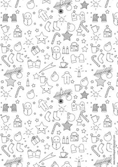 MeinLilaPark – DIY printables and downloads: Free printable Christmas coloring page - ausdruckbares Malblatt - freebie