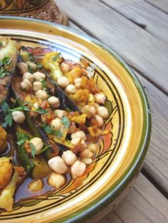 Ive finally made use of that tagine I bought in Morocco last year. My long time friend V, and I took a trip to Marrakech and the Sahara desert. Veg Recipes, Good Healthy Recipes, Healthy Foods To Eat, Vegetarian Recipes, Healthy Eating, Cooking Recipes, Easy Recipes, Vegetarian Tagine, Vegetarian Types