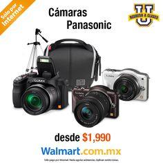 ¡La mejor manera de guardar tus momentos favoritos la tenemos con las cámaras Panasonic! Da clic en la foto y descubre la gran variedad de cámaras que tenemos para ti. Walmart.com.mx, Hacemos Clic!