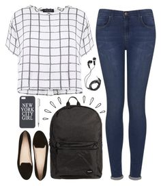 """""""Jane"""" by vintagenerd8 ❤ liked on Polyvore featuring Myne, Topshop, Jagger, DEOS, Old Navy and Witchery"""