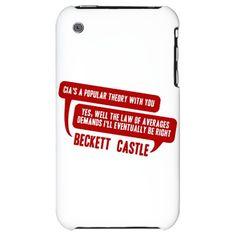 Castle CIA/Law Of Averages iPhone 3G Hard Case Castle TV show  $24.50