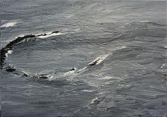 Westmännerinseln 02.08.10, 2010, Acryl auf Leinwand, 120 x 170 cm
