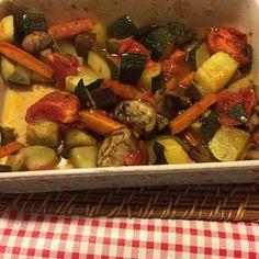 Há sempre qualquer coisa!: Legumes assados no forno