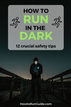 12 tips to make running in the dark easier and safer. Wellness Fitness, Fitness Tips, Health Fitness, Learn To Run, How To Start Running, Race Training, Training Plan, Running Workouts, Running Tips