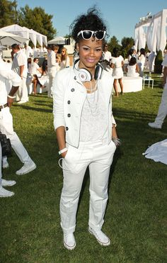 "Teyana Taylor Photo - Sean ""Diddy"" Combs, Ashton Kutcher and Malaria No More Host The White Party"