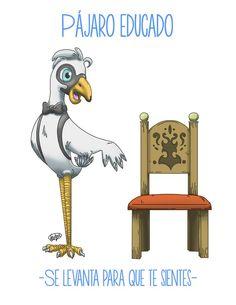 Albur / ¿Cual es el ave más caballeroso? El pájaro que se levanta para que te sientes #albur #AlburMexicano #DobleSentido