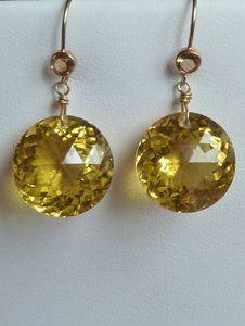 canary quartz and topaz