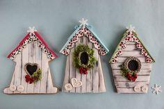 Más tamaños | Winter birdhouse cookies | Flickr: ¡Intercambio de fotos!