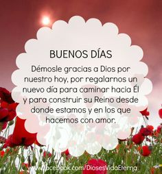 BUEN DIA God Is Good, Christmas Ornaments, Holiday Decor, Quotes, Buen Dia, Good Day Quotes, Thank You God, Prayers, Thoughts