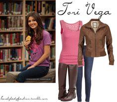 """Tori Vega"" by nearlysamantha ❤ liked on Polyvore"