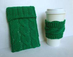 Coffee and ipad cozy