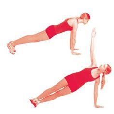 Standing V Raise  http://www.womenshealthmag.com/fitness/arm-fat