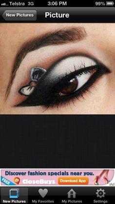Awesome eye makeup !!!