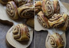 CINNAMON ROLLS without Sugar, less Fat - with Almond Butter and Dates!