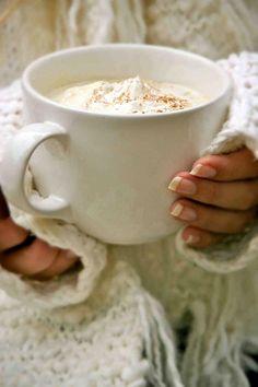 Cream Puff... warm, cozy, coffee, winter time!