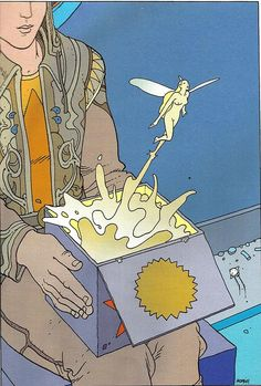 "Moebius - ""Montrouge Mystery""  2001Illustration 13  Stardom Editions,Paris"